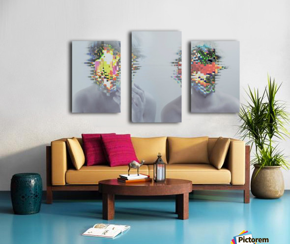 Glitch Serie Canvas print