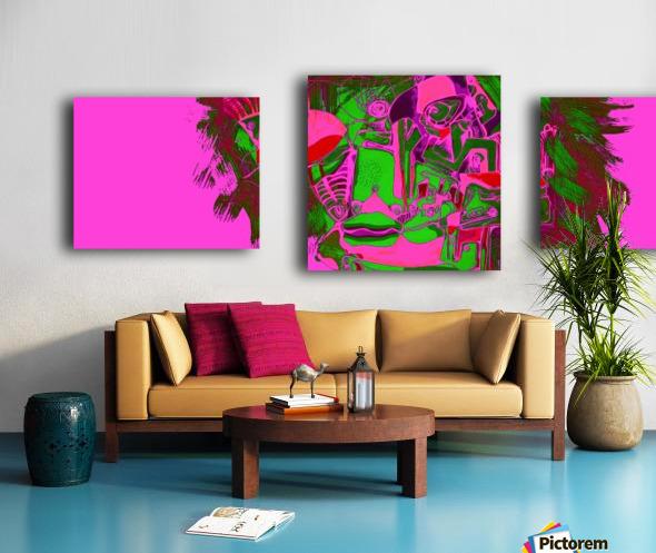 Fascia Canvas print