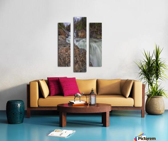 Myra Falls, Strathcona Provincial park; British Columbia, Canada Canvas print