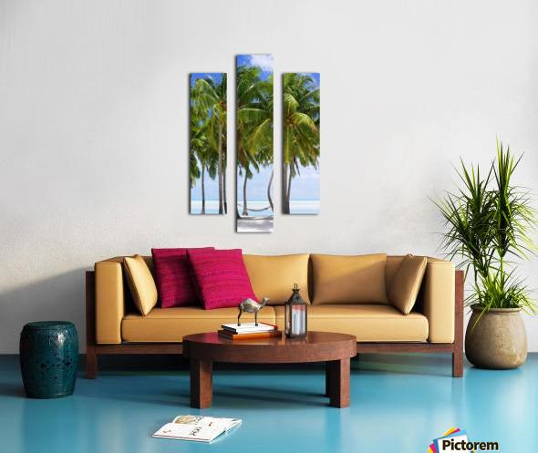 Aitutaki Lagoon Resort, Aitutaki, Cook Islands Canvas print