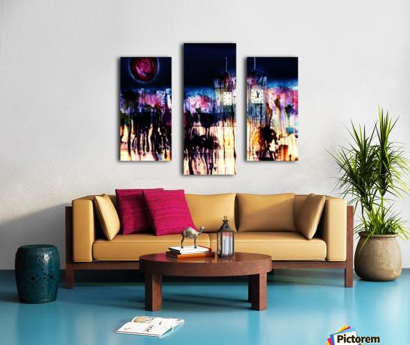 Cityscape Serie Canvas print