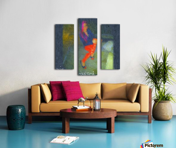 Hot Canvas print