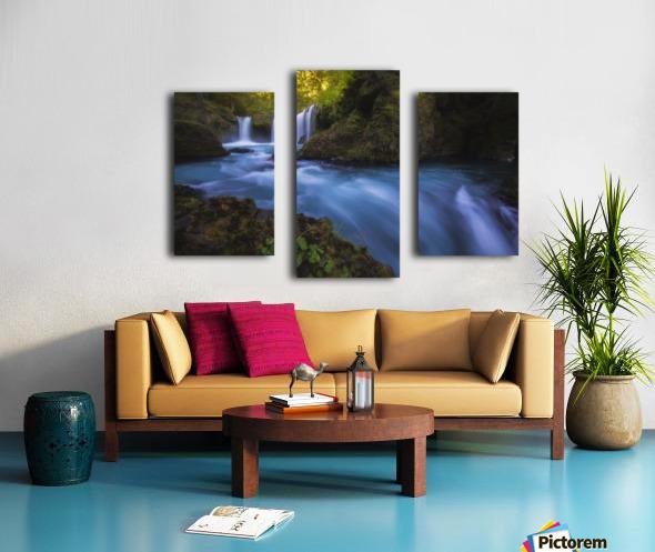 Spirit Falls; Washington, United States of America Canvas print