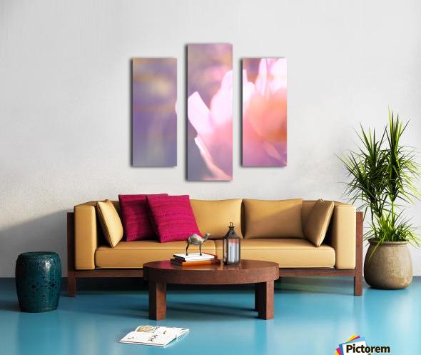 Rödklöver Canvas print