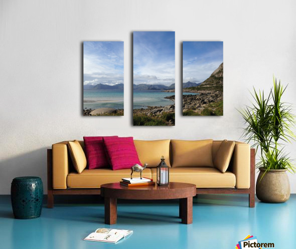 Cold Summer Canvas print