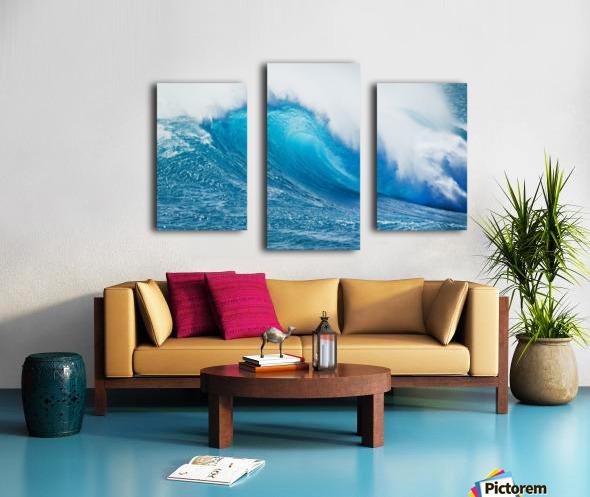Beautiful Blue Ocean Wave Canvas print