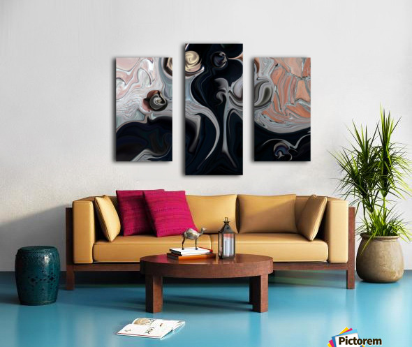 Act with Mystic Abstraction Canvas print