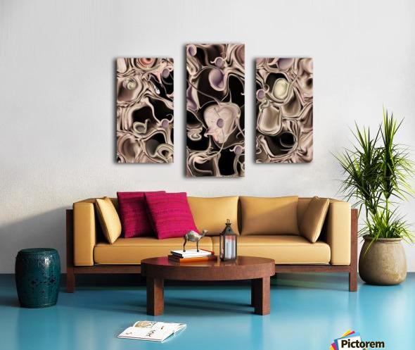Reincarnated Emotion Canvas print