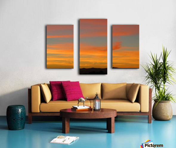 Amazing Sunset 1VP Canvas print