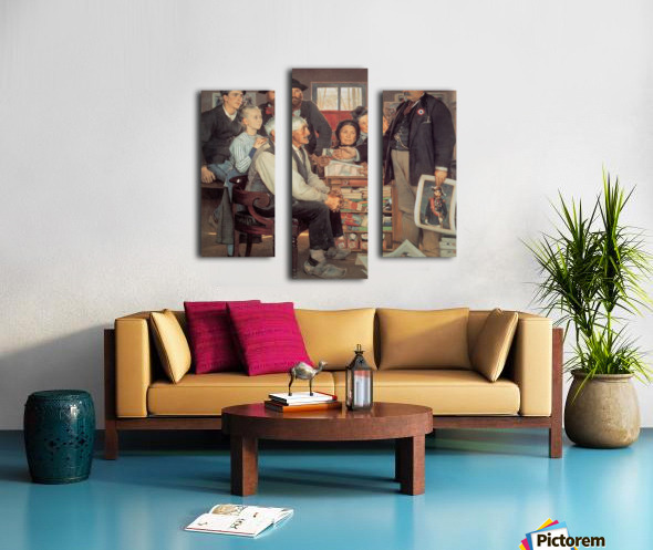 A large family Canvas print