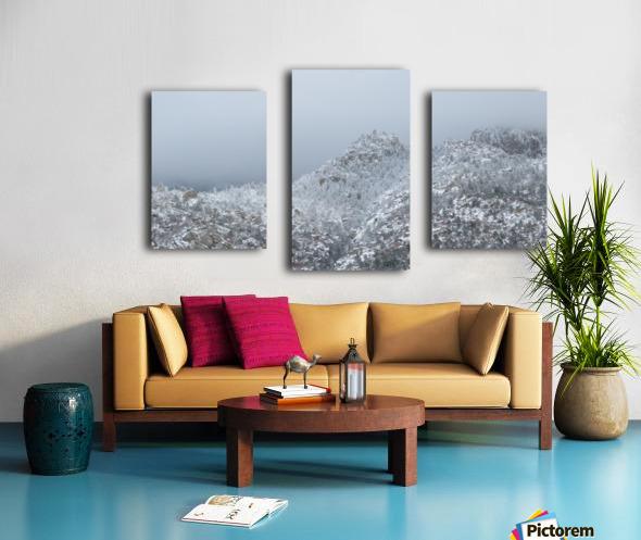 Sandia Mountains in Snow 1VP Canvas print