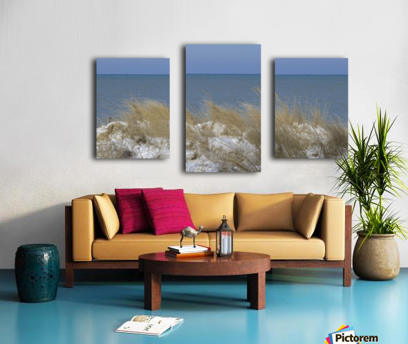 Gillson Beach in the Winter VP1 Canvas print