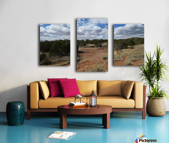 Landscape Near the Ruins of the Abo Pueblo VP9 Canvas print