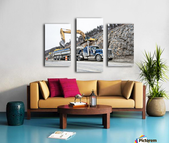 Loading up Canvas print