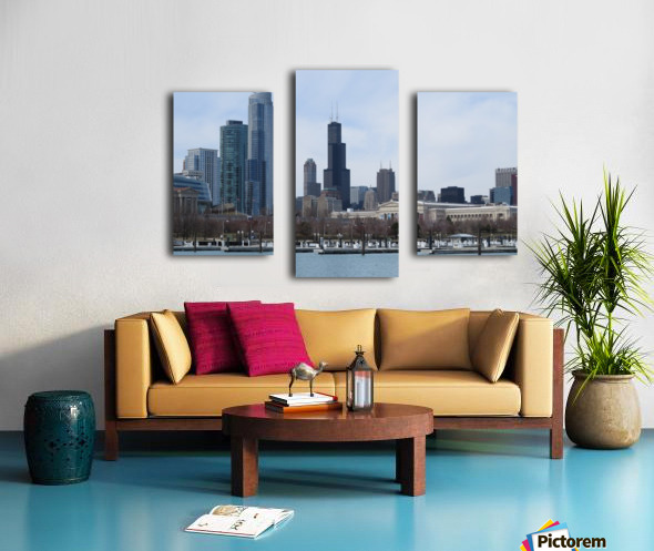 View of Chicago From Northerly Island VP2 Canvas print