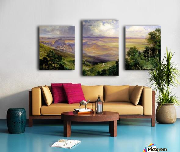 Valley of Cuernavaca Canvas print