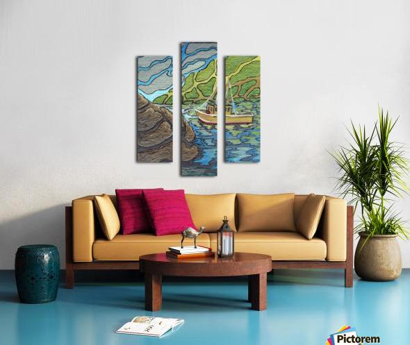 Little Harbor View Canvas print