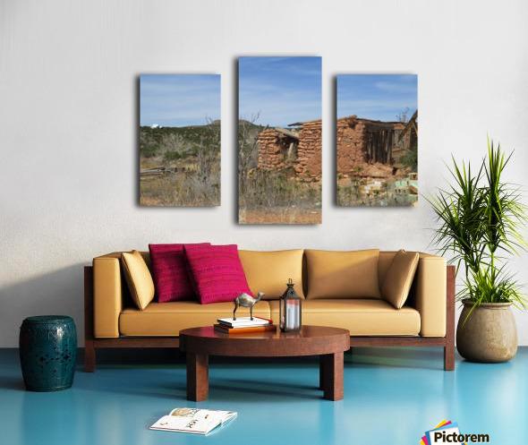 Jemez Mountains VP16 Canvas print