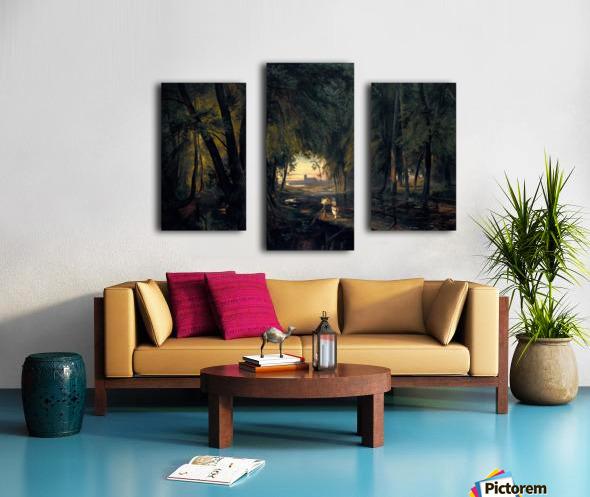 Alchetron Impression sur toile