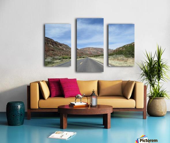 Jemez Mountains VP23 Canvas print