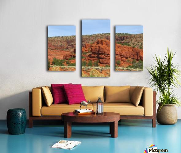 Jemez Mountains VP20 Canvas print