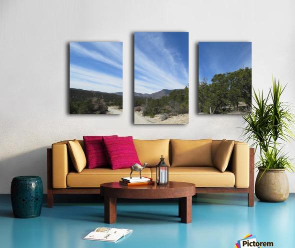 Manzano Mountains VP3 Canvas print