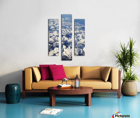 The Rockies Canvas print