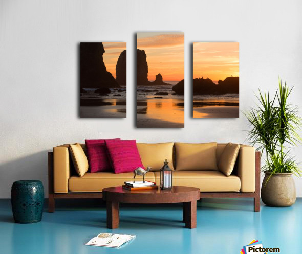 Pacific Afterglow Canvas print