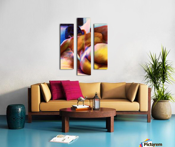 Nude - 07-12-16 Canvas print