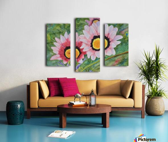 Two Daisies Canvas print