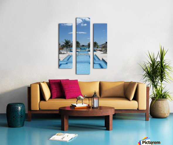 Infinity Pool Canvas print