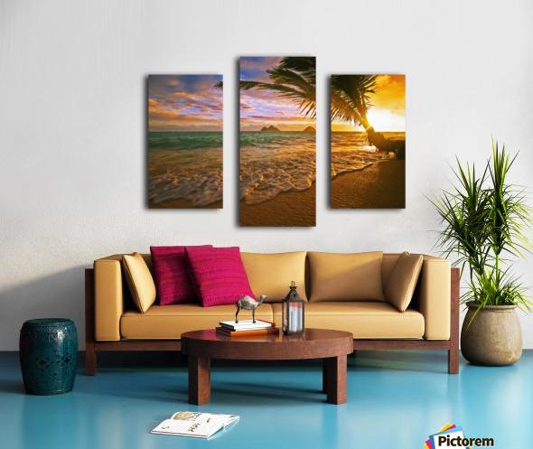 Lanikai Beach Sunset Canvas print