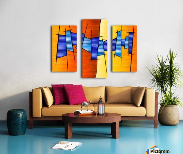 Seria Caloni V1 - the gift Canvas print