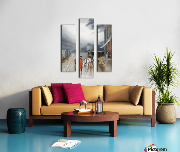 After rain - Chelsea Canvas print