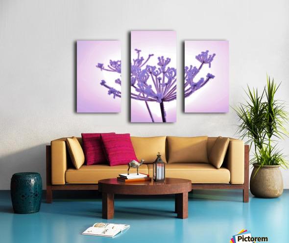 Pink tint Canvas print