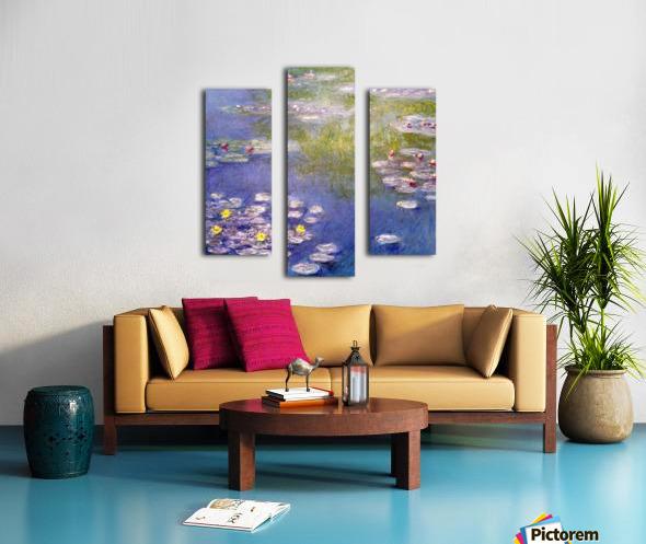 Nympheas at Giverny Canvas print