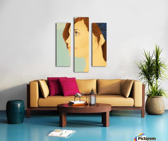 Euhoria Canvas print