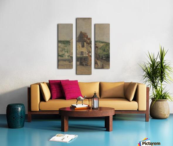 A farmhouse Canvas print