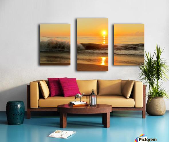 Ocean Rising Canvas print