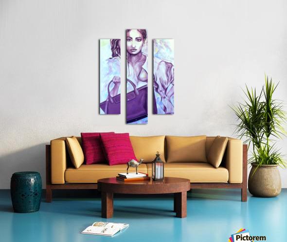 bag_lady_print Canvas print