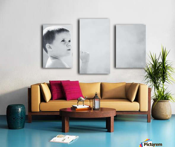 Expression Of A Child Canvas print