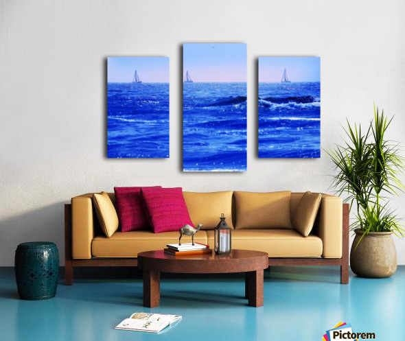 A Good Day For Sailing Canvas print