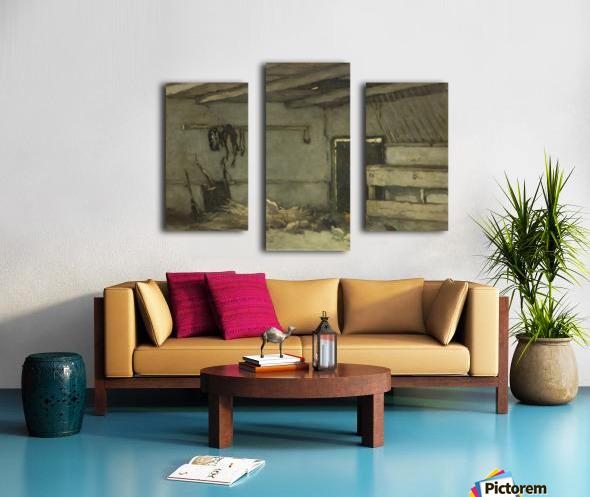 Stalinterieur Canvas print