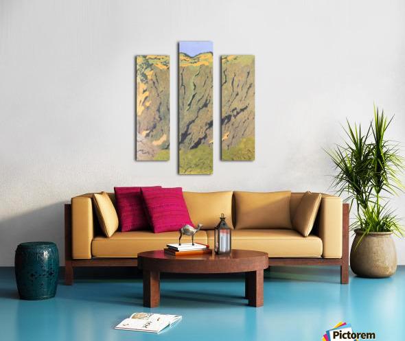 Cliffs by Felix Vallotton Canvas print
