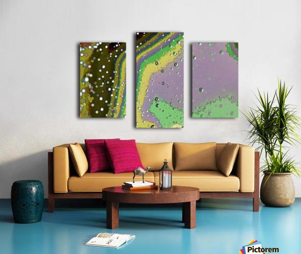 Raindrops 4   Canvas print