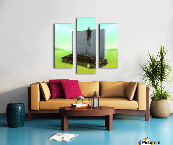 personal wall Canvas print