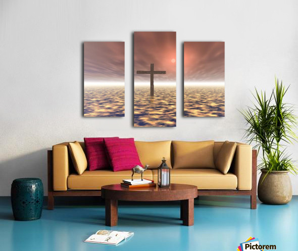 The Mystery Of The Cross Canvas print
