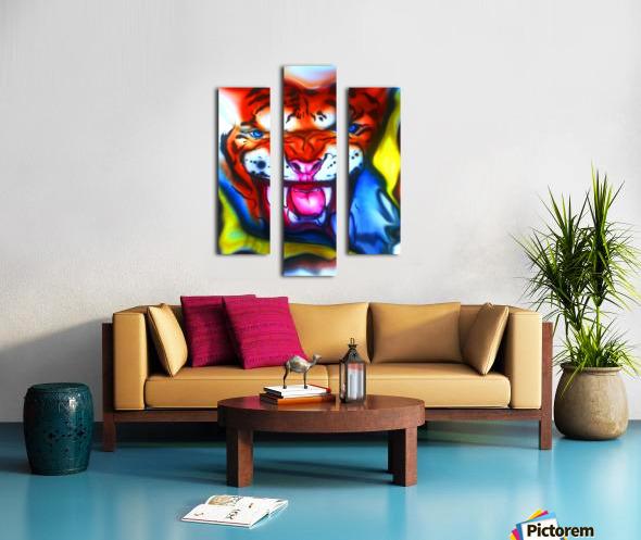 tiger1 Canvas print