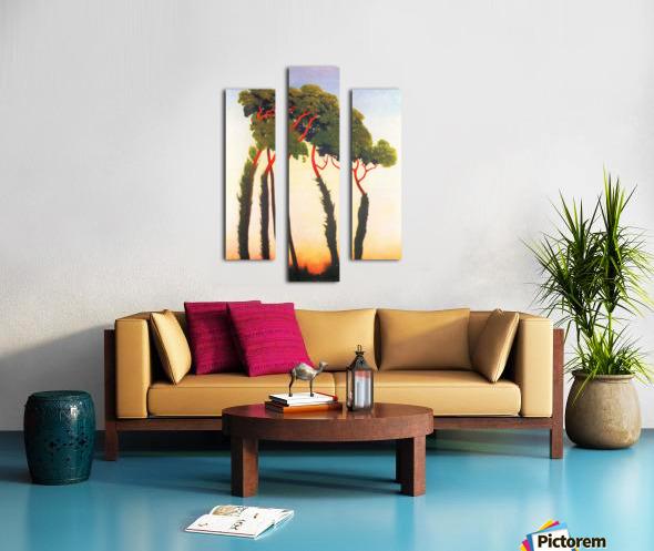 Five Trees by Felix Vallotton Canvas print