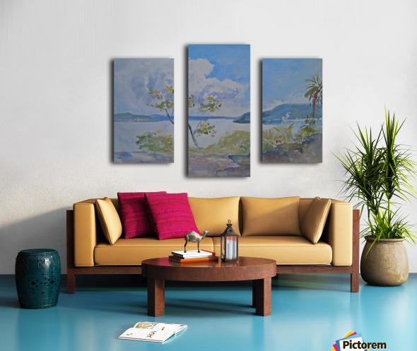 Lago Maggiore, Italy Canvas print